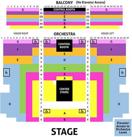 Reserved Seating Chart Creation And Setup Thundertix
